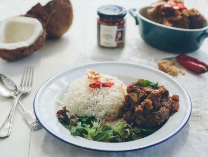 Rendang Terlagi Lagi Beef – Malaysian Dry Style