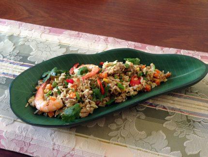 Thai Green Fragrant Fried Rice