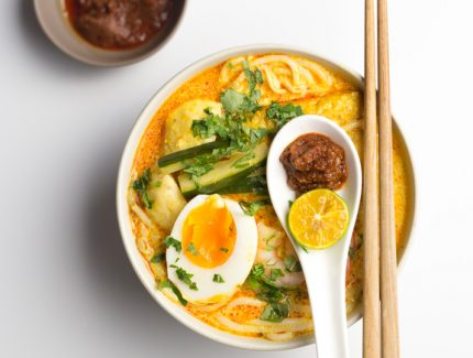 Quick & Easy Singapore Curry Laksa