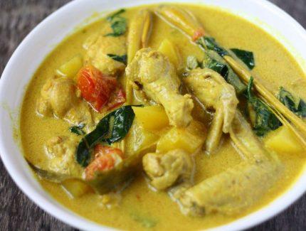 Indonesian Turmeric Chicken Curry – Mild
