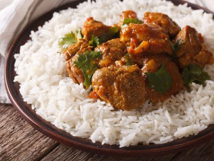 Spicy Madras Curried Lamb