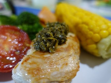 3 ways with Green Chimichurri Sauce/Marinade