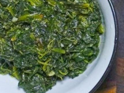 Garlic Spinach/Greens