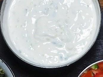 Yoghurt and Cucumber