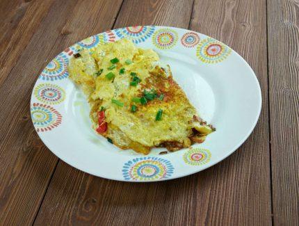 Latasha's Madras Egg Omelettes