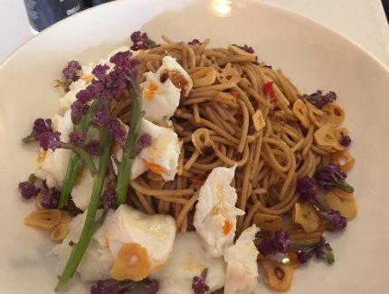 Burrata, Chilli and Balsamic Spaghetti
