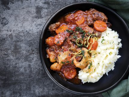 Slow Cooked Rendang Osso Bucco