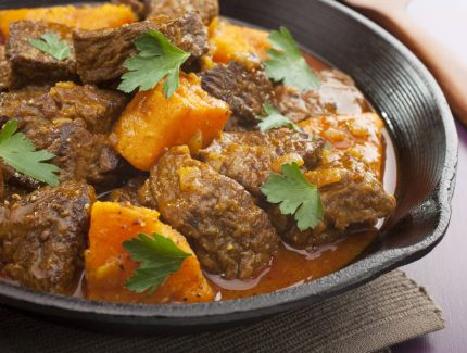 Stove Top Thai Beef and Sweet Potato Curry