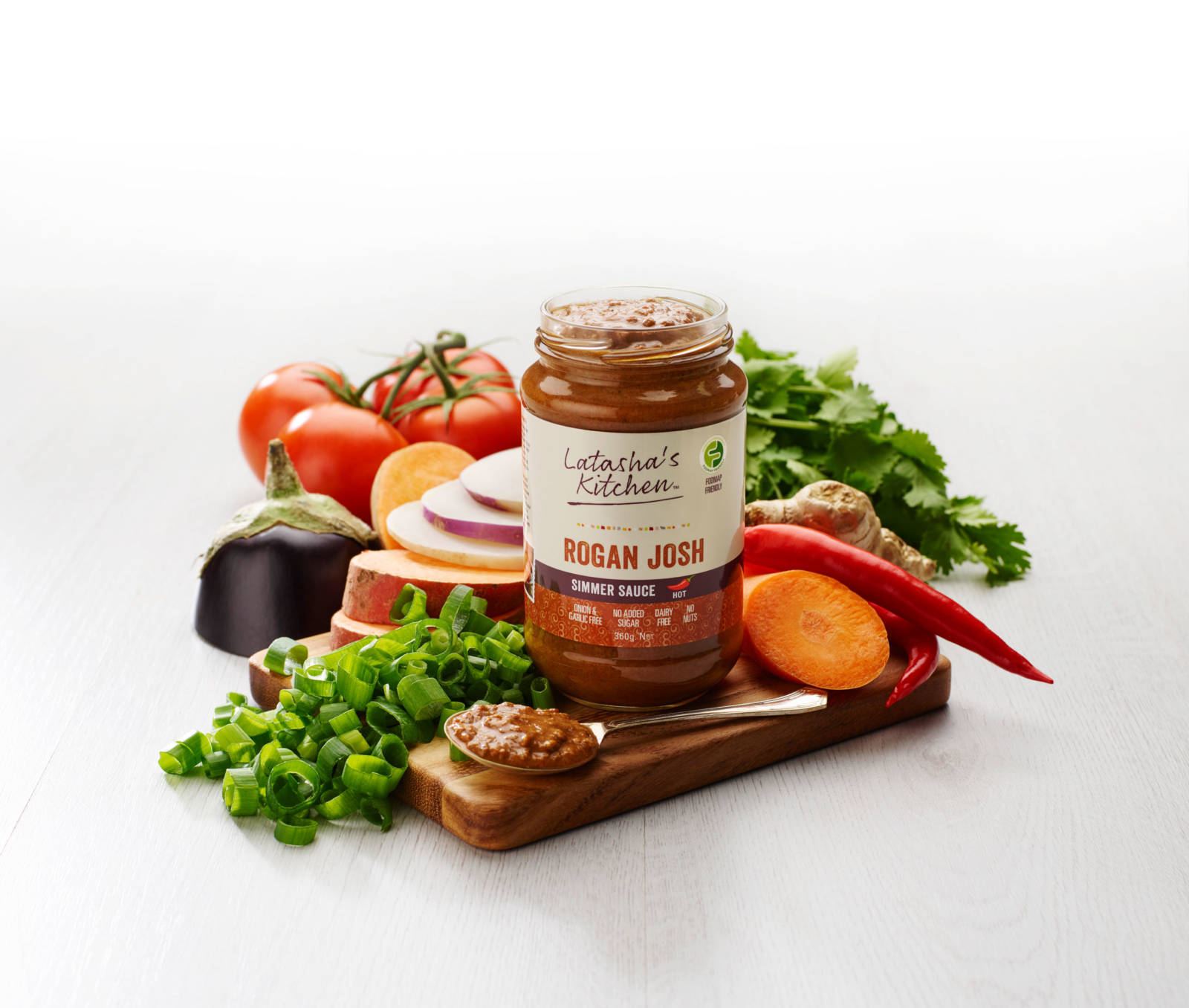 Low FODMAP Simmer Sauces - Rogan Josh by Latasha's Kitchen