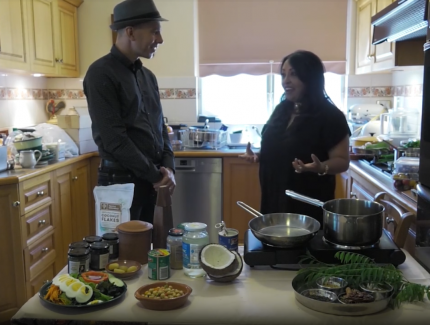 Cooking and Chatting in My Kitchen with Courtney Waller (Video)