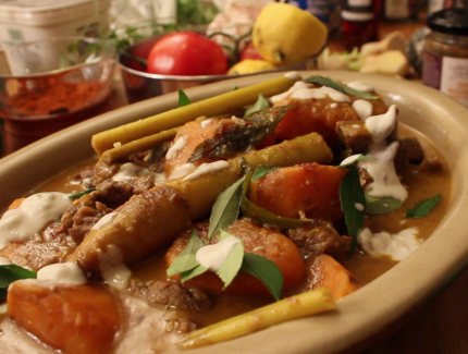 Thai Beef Massaman (Video)