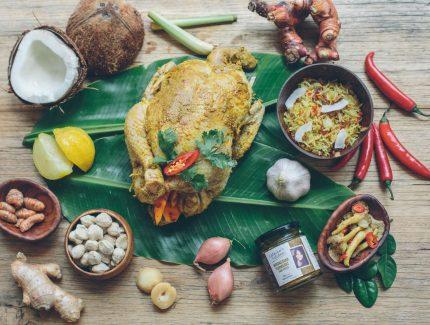 Indonesian Turmeric Baked Chicken