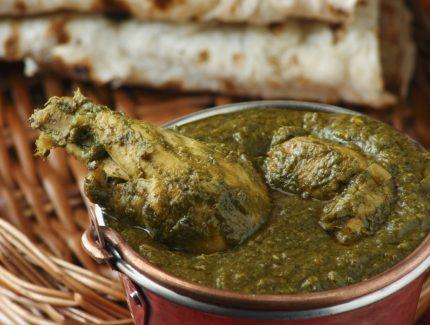 Chicken Saag – Chicken in Creamy Spinach Sauce