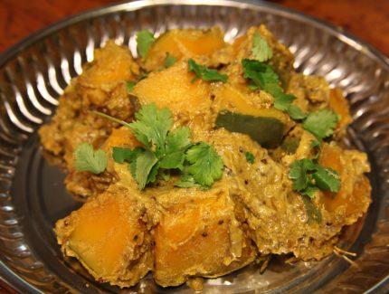 Madras Pumpkin Masala