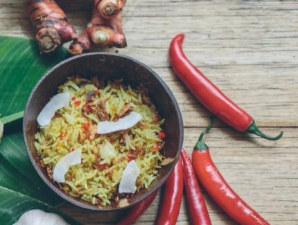 Indonesian Turmeric Fried Rice