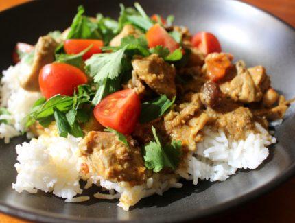 Quick & Easy Korma Chicken