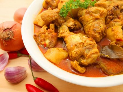 Traditional Homestyle Chicken Curry