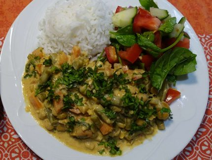 Chickpea Veggie Rogan Josh