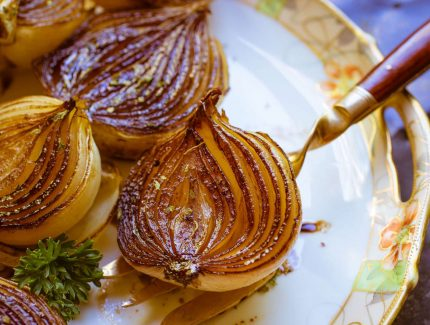 Roasted Balsamic Onions