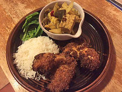 Indonesian Turmeric Fried Chicken