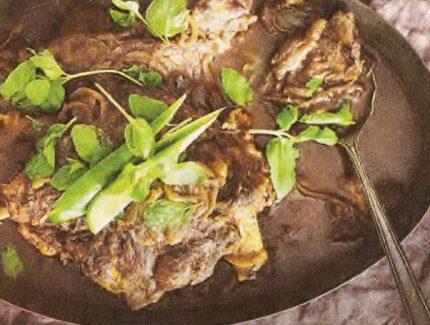 Slow Cooked Korma Leg of Lamb