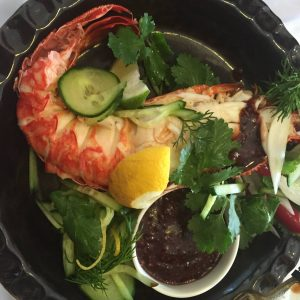 lobster-with-beetroot-and-balsamic-dip-1
