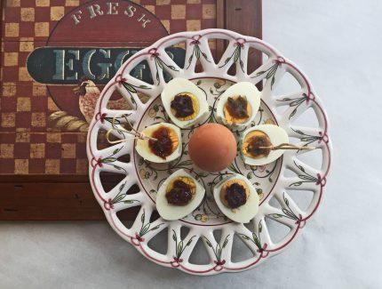 Easy cocktail eggs