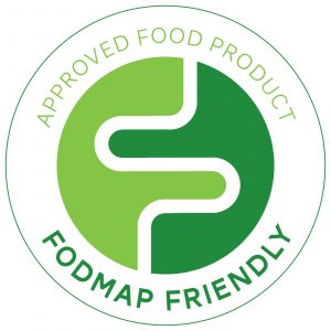 FODMAP friendly approved food product logo