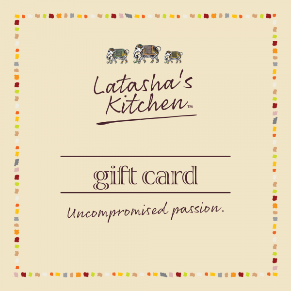 Online Gift Card Custom Amount Latasha's Kitchen